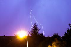 Lightning / 2017-06-22 (astrofreak81) Tags: explore lightning blitz gewitter donner sturm regen rain strom hell knall licht couds wolken light night sky dark canon eos 1000d dresden 20170622 astrofreak81 sylviomüller sylvio müller