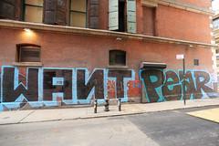 want pear (Luna Park) Tags: ny nyc newyork manhattan graffiti lunapark pear d30 want wanto 246