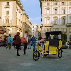Firenze City Tour (Scott Micciche) Tags: 75mm kodak believeinfilm firenze madewithkodak portra800 rolleiflex sixbysix toscana