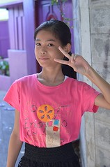 pretty preteen girl (the foreign photographer - ฝรั่งถ่) Tags: pretty preteen girl child khlong lard thanon portraits bangkhen bangkok thailand nikon d3200
