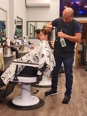Everett Getting A Haircut (Joe Shlabotnik) Tags: april2019 galaxys9 cameraphone everett haircut 2019