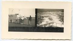 . (Kaïopai°) Tags: vintage kontaktabzug reise travel fähre ferry ship schiff baltic ostsee