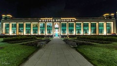 Hoover Building by Night (ivanstevensphotography) Tags: artdeco artdecophotography architecture buildings london northlondon perivale hooverbuilding gradeiilisted