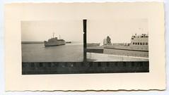 . (Kaïopai°) Tags: vintage kontaktabzug reise travel fähre ferry ship schiff baltic ostsee roro