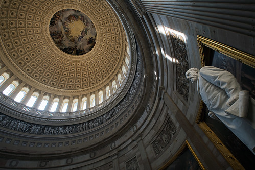 Capitol Hill dome interior by Timothy Neesam (GumshoePhotos), on Flickr