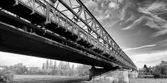 Brücke (wernerfunk) Tags: bridge architektur schwarzweiss blackwhite hessen