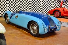 1937 Bugatti 57G (jimculp@live.com) Tags: museum philadelphia racing simeone history bugatti tank lemans