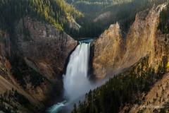 Yellowstone Falls (John H Bowman) Tags: wyoming parkcounty parks nationalparks yellowstonenp waterfalls yellowstonewaterfalls wyomingwaterfalls riversandstreams yellowstoneriver grandcanyonofyellowstone latelight july2019 july 2019 canon24704l