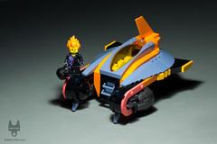 Vic Viper (Robiwan_Kenobi) Tags: vic viper spaceship robiwankenobi space scifi vicviper moc lego novvember