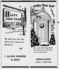 New Year 1 - Enquirer - 27 Dec 1956