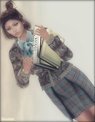► ﹌Les livres anciens ont le parfum des mots oubliés.﹌◄ (яσχααηє♛MISS V♛ FRANCE 2018) Tags: go blog blogger blogging bento virtual maitreya lesclairsdelunedesecondlife lesclairsdelunederoxaane girl fashion flickr france firestorm fashiontrend fashionable fashionindustry fashionista fashionstyle designers secondlife sl slfashionblogger shopping styling style avatar artistic art roxaanefyanucci topmodel poses photographer posemaker photography