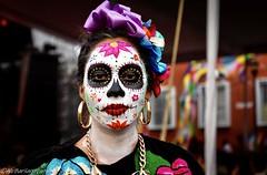 Catrina, Dia de los Muertos, Mexico (runfleti2) Tags: dayofthedead mexico nikonphoto nikond7100 nikon catrina