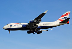 The Queen (Infinity & Beyond Photography: Kev Cook) Tags: thequeen britishairways british airways boeing 747400 airlines 747 b747 aircraft airplane airliner heathrow airport london lhr egll planespotting photos planes gcivh