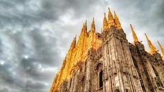 Il Duomo - Milano (Luc1659) Tags: duomo milano italy architettura barocco sky tempesta nuvole