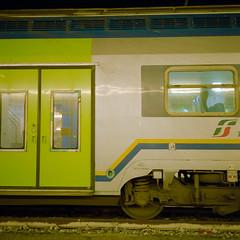 Firenze SMN Train (Scott Micciche) Tags: 75mm kodak believeinfilm firenze madewithkodak portra800 rolleiflex sixbysix toscana