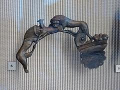 Lions attacking a sheep (Nemoleon) Tags: acropolismuseum october 2019 dsc04351 bronze lions