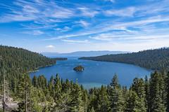 Emerald Bay, Lake Tahoe (ValeTer_) Tags: body water nature lake wilderness sky mountain tree natural environment crater nikon d7500 tahoe usa nikond7500 landscape island california laketahoe
