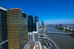 Brisbane from the 36th floor (agasfer) Tags: 2019 australia brisbane cityscapes pentax k3 sigma1020