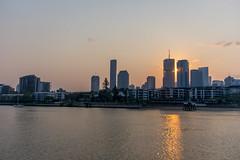 Brisbane sunset (agasfer) Tags: 2019 australia brisbane cityscapes pentax k3 sigma1020 cloudsstormssunsetssunrises