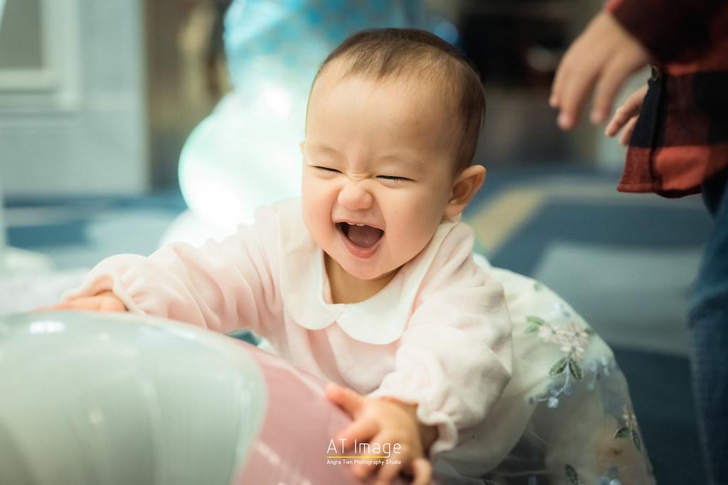 <全家福 親子攝影> Bella 周歲趴 / 文華東方