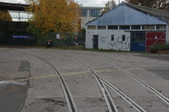Photo of 19-656  Part of the disused section of the Bristol Harbour Railway
