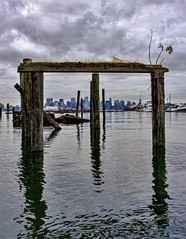 Downtown from the shore (georgemosna) Tags: northshore downtown vancouver northvancouver storm