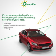 Automobile Window Tinting Services in Farmers Branch | GreenFilm USA (greenfilmsusa) Tags: automobile window tinting company professional automotive tool kit customized services standard
