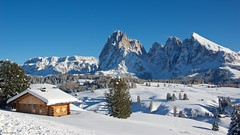 IMGP3689 Panorama (Claudio e Lucia Images around the world) Tags: alpedisiusi valgardena dolomiti alpe di siusi val gardena snow winter mountains adler lodge ortisei sassolungo sassopiatto sky christ cross pentax pentaxk3ii pentaxcamera pentaxlens pentaxart cold unesco pentax18135 gröden sciliar clouds tree