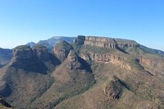 The Three Rondavels (Rckr88) Tags: mpumalanga southafrica south africa the three rondavels thethreerondavels rondavel mountains mountain cliff cliffs greenery green nature naturalworld outdoors travel travelling