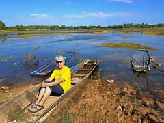Nong Wai scenes - หนองหวาย 3e (SierraSunrise) Tags: thailand phonphisai nongkhai isaan esarn swamp pond reservoir nong nanang boats