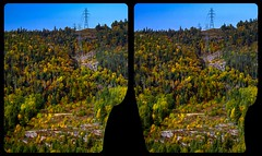 Ontario Indian Summer 3-D / CrossView / Stereoscopy (Stereotron) Tags: ontario canada northamerica province indiansummer autumn fall forest woods outback backcountry wilderness cross eye view xview crosseye pair free sidebyside sbs kreuzblick bildpaar 3d photo image stereo spatial stereophoto stereophotography stereoscopic stereoscopy stereotron threedimensional stereoview stereophotomaker photography picture raumbild hyperstereo twin canon eos 550d remote control synchron kitlens 1855mm tonemapping hdr hdri raw 3dframe fancyframe floatingwindow spatialframe stereowindow window 100v10f