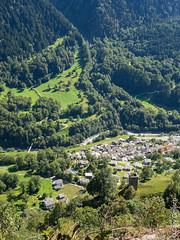 Castasegna von Motta Pita aus gesehen (Bergell, Graubünden) (12/09/2019 -10) (Cary Greisch) Tags: bergell che carygreisch castasegna kantongraubünden mottapita switzerland valbregaglia