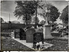 The inevitable (wojciechpolewski) Tags: blanconegro blackwhite schwarzweis photos photo sacral poland wpolewski cemetery streetexplorer