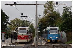 Tram Chemnitz - 2019-19 (olherfoto) Tags: tram tramcar tramway villamos chemnitz cvag tatra tatratram strasenbahn strassenbahn
