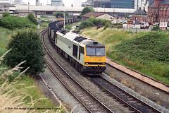 15/07/1997 - Warrington (Arpley), Cheshire. (53A Models) Tags: ews class60 60013 robertboyle diesel freight warrington arpley cheshire train railway locomotive railroad
