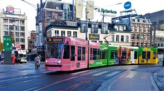 Nieuwe coupe (Peter ( phonepics only) Eijkman) Tags: amsterdam city combino colorbino gvb tram transport trams tramtracks trolley rail rails strassenbahn streetcars nederland netherlands nederlandse noordholland holland