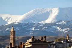 Tarazona, el Moncayo y sus primeras nieves. (EduOrtÍn.) Tags: moncayo nieve torrelamagdalena torre tarazona aragón mudéjar