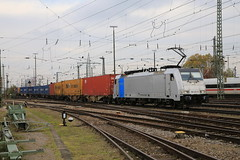 LINEAS 186 424-8 Containerzug, Basel Bad Bhf (michaelgoll777) Tags: lineas br186 traxx