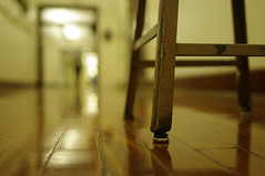 timeout seat (Shaefer) Tags: timeout hallway woodenfloors selectivefocus chs