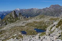 Drei Seeli und der Piz dal Päl (Albigna, Bergell, Graubünden) (13/09/2019 -08) (Cary Greisch) Tags: albigna bergell che carygreisch kantongraubünden pizdalpäl see switzerland valbregaglia lac