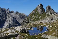 Der Piz dal Päl mit Seeli (Albigna, Bergell, Graubünden) (13/09/2019 -10) (Cary Greisch) Tags: albigna bergell che carygreisch kantongraubünden pizdalpäl see switzerland valbregaglia lac