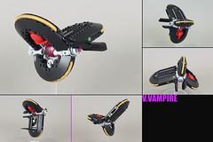 """""""V.VAMPIRE"""" vv starfighter (Shamisenfred) Tags: lego vampier vv star fighter crystal"""