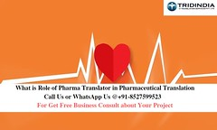 What is Role of Certified Pharma Translator in Pharmaceutical Translation (sherryvlong) Tags: ultimate pharma translation services