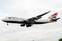 G-BNLK (PlanePixNase) Tags: london heathrow lhr egll planespotting airport aircraft british britishairways boeing 747 b744 747400 jumbo