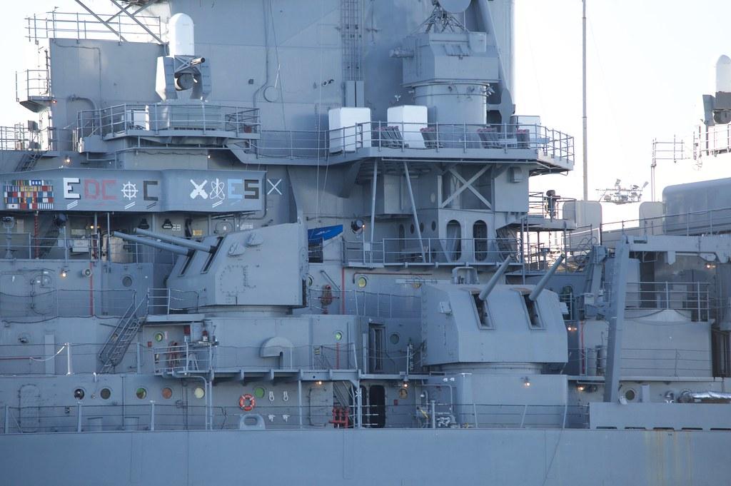 Port forward bridge, ship