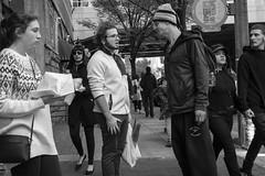Arch Street, 2018 (Alan Barr) Tags: philadelphia 2018 archstreet street sp streetphotography streetphoto blackandwhite bw blackwhite mono monochrome candid city people panasonic gx85
