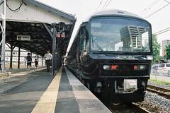 Zipang Hiraizumi 485 (しまむー) Tags: pentax mz3 smc a 28mm f28 kodak gold 200 北海道&東日本パス 普通列車 local train trip east japan 東北本線 縦断