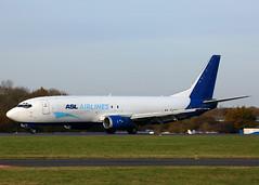 EI-STO Boeing 737-43Q SF ASL Airlines (Keith B Pics) Tags: eisto b737 boeing aslairlines sen egmc keithbpics londonsouthendairport amazon madrid b737400 b18672 tciaf n480ge pkgwy vna189 n237sc t7vxb vtsva cargo