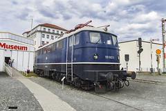 BR 110 002-3 | DB Museum Nürnberg (Felipe Radrigán) Tags: tren ferrocarril bahn railroad railway train db locomotive locomotora museo museum 110 1100023 nürnberg bayern alemania germany deutschland