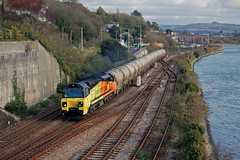 70812 6C35 Laira Junction 20/11/19 (mattcareyphotography) Tags: colas railfreight class 70 70812 laira junction 6c35 aberthaw moorswater tarmac cement